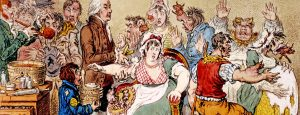 Kate Dolan writes about vaccine fears in 1721