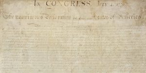 Kate Dolan writes about the Declaration of Independence